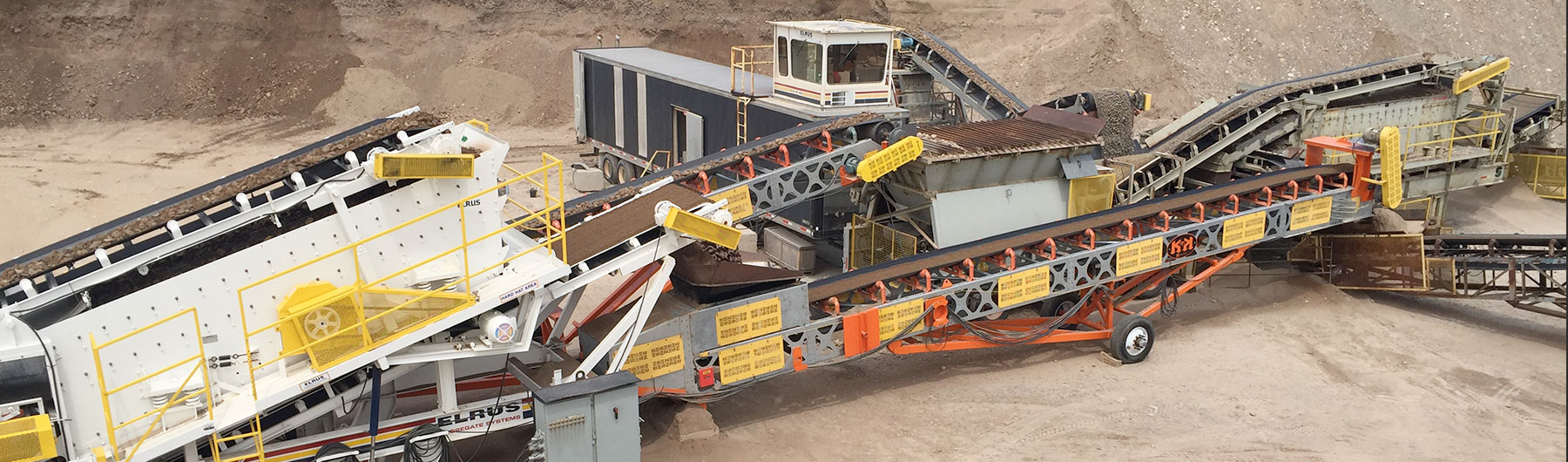Our Conveyor, Portable and Stationary Equipment